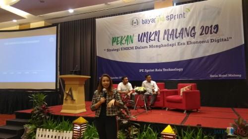 Kegiatan fasilitasi UMKM yang dilakukan ISMEI Malang di Hotel Atria, Kota Malang. (Foto: Nurlayla Ratri/MalangTIMES)