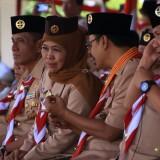 Gubernur Khofifah Ajak Gerakan Pramuka Jaga Keutuhan NKRI dari Tiga Ancaman Besar
