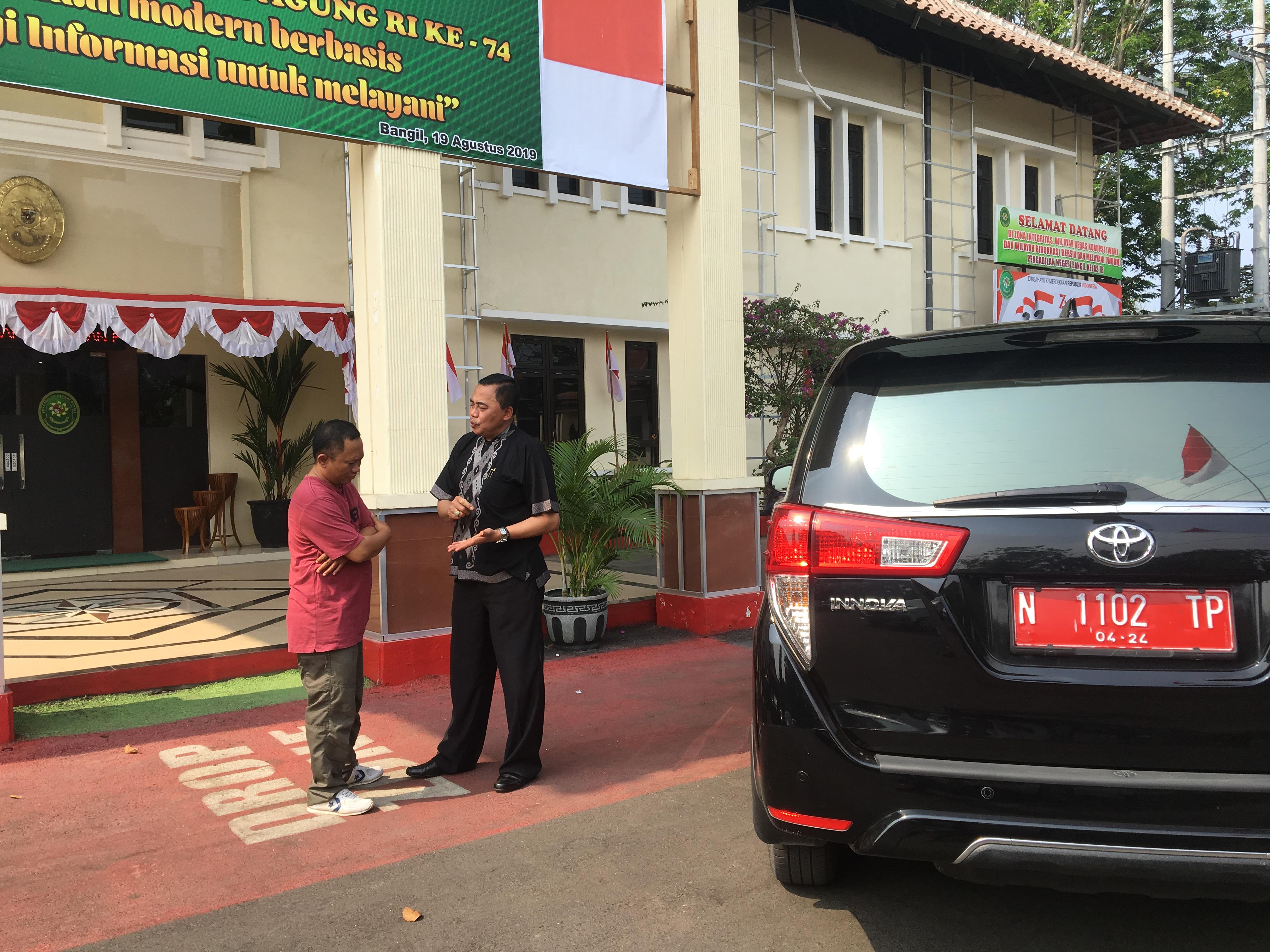 Mantan Kadispora Kabupaten Pasuruan
