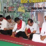 Sambut HUT RI ke 74, Polres Blitar Gelar Doa Kebangsaan Lintas Agama
