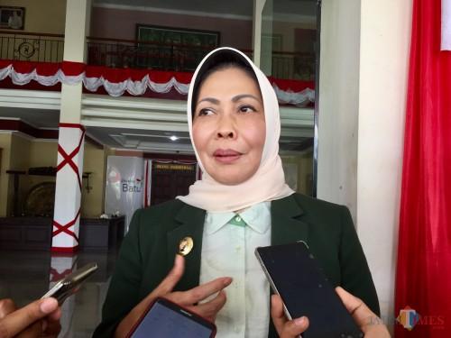 Wali Kota Batu, Dewanti Rumpoko. (Foto: Irsya Richa/MalangTIMES)