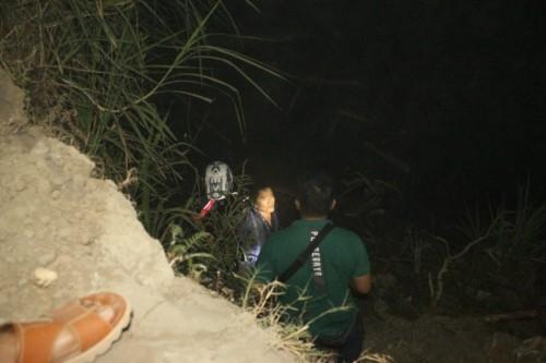 Juremi ditangkap setelah bersembunyi di pinggir Sungai Brantas, Desa Pinggirsari, Tulungagung./ Foto : Dokpol / Tulungagung TIMES