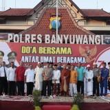 Polisi dan Tokoh Lintas Agama Gelar Doa Bersama untuk Persatuan dan Kesatuan Bangsa