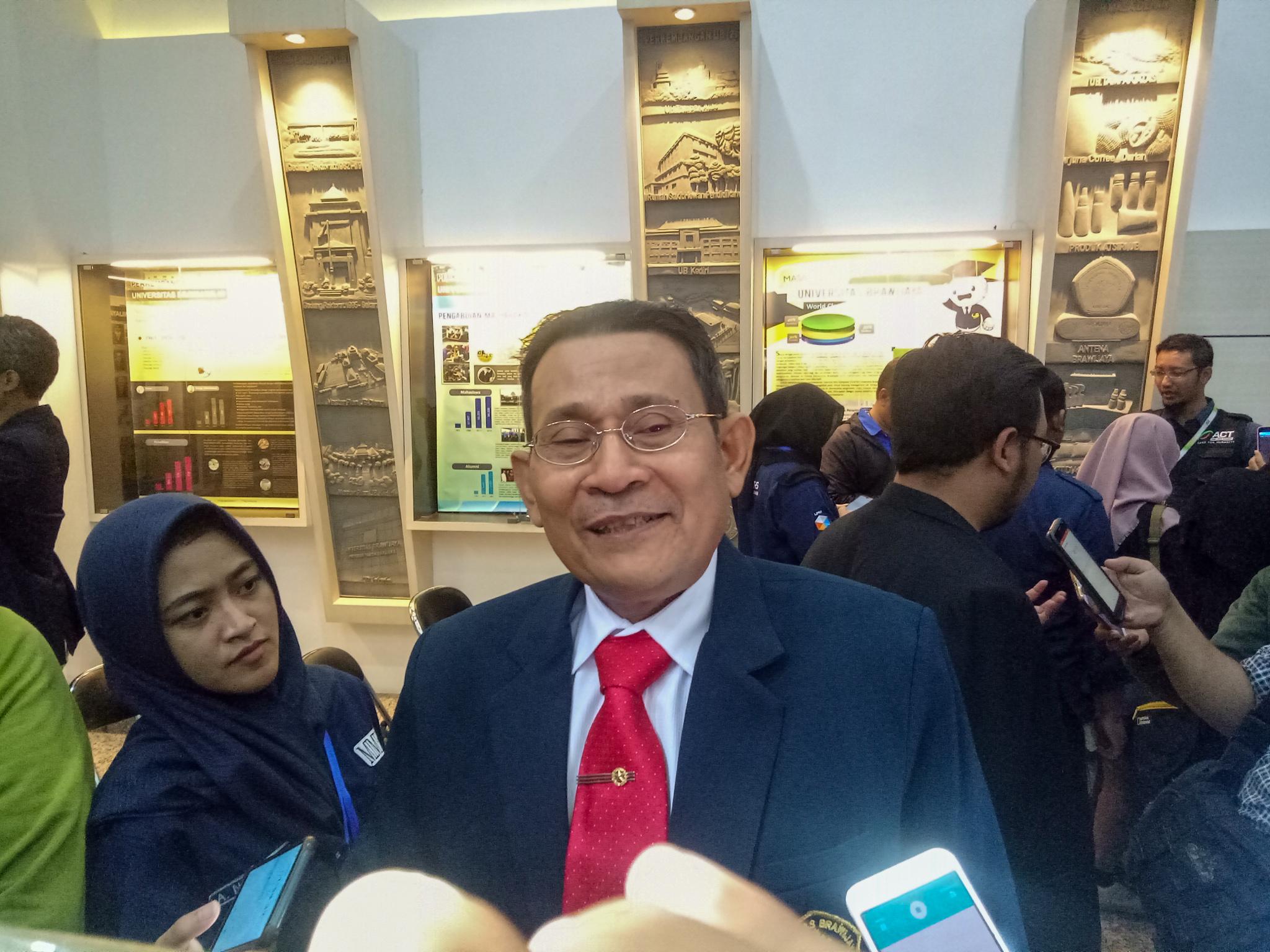 Rektor UB, Prof Dr Ir Nuhfil Hanani AR MS. (Foto: Imarotul Izzah/MalangTIMES)