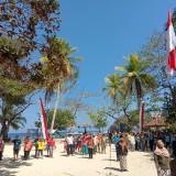 Peringati HUT RI ke 74 di Pantai Ngliyep, Tahun Depan KNPI Kabupaten Malang Bakal Libatkan Hewan sebagai Peserta Upacara