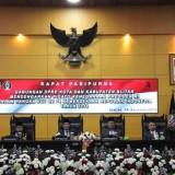 DPRD Kota dan Kabupaten Blitar Paripurna Gabungan, Dengarkan Pidato Kenegaraan Presiden