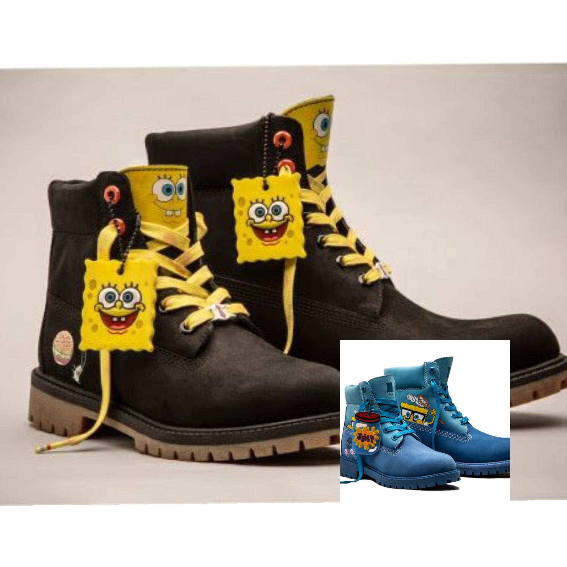 Spongebob x Timberland (Foto: Istimewa)