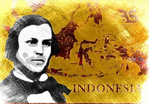Ilustrasi Logan sang penemu nama atau istilah Indonesia. (Ist)