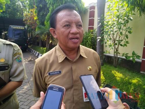 Kepala Dinas Kesehatan Kota Malang Supranoto (Arifina Cahyanti Firdausi/ MalangTIMES)
