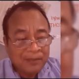 Pendeta Hendri Tandianta membela pernyataan UAS terkait palang salib yang dihuni jin kafir. (screenshot video haluan nusantara)