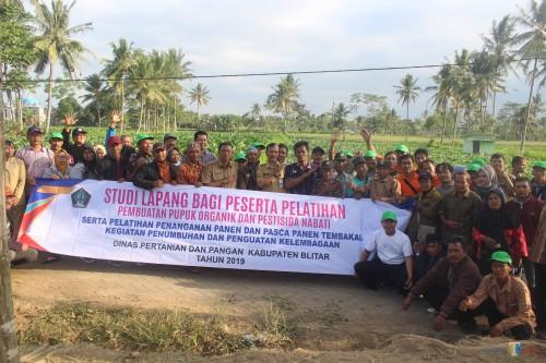 Dorong Pertanian Tembakau Go Organik, Dinas Pertanian Pemkab Blitar Ajak Petani Sinau ke Bondowoso