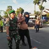 Saat Upacara 17 Agustus Berlangsung, 2 Pemuda Mabuk Terobos Barisan dengan Motor