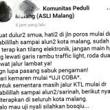 Ramai di Media Sosial, Ternyata Tilang Elektronik Belum Diberlakukan di Kota Malang
