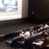 Kabid SD Dinas Pendidikan Jember saat memberikan sambutan dan penjelasan dalam sosialisasi film AATS (foto : Moh. Ali Makrus / Jatim TIMES)