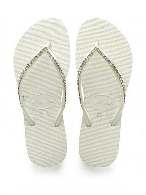 Sandal jepit berhias kristal Swarovski (Foto: Istimewa)