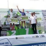 peserta TDI yang berhasil meraih juara 1,2 dan 3 di etape 3 (foto : Moh. ALi Makrus / Jatim TIMES)