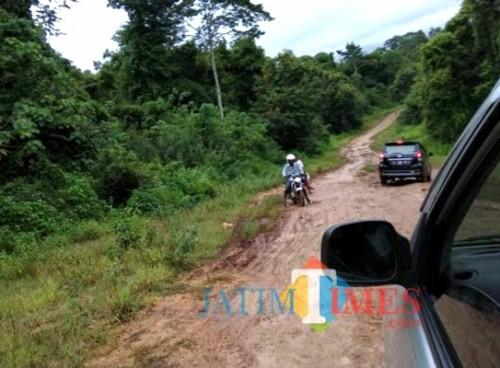 Jalan wisata Malang Selatan masih terbilang banyak butuh pembangunan. (dok MalangTIMES)