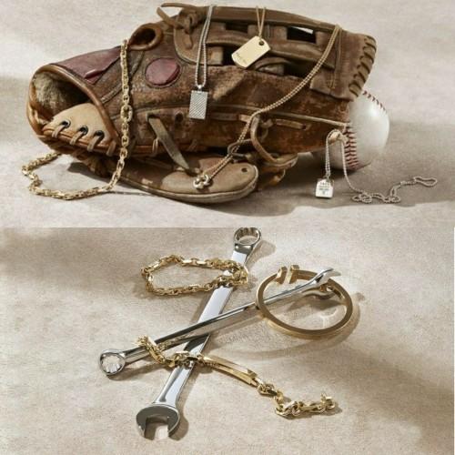 Set perhiasan khusus pria Tiffany & Co. (Foto: Istimewa)