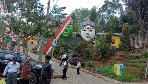 Suasana Kampung Topeng (Pipit Anggraeni/MalangTIMES).
