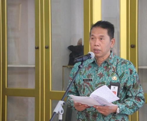 Sekda Kabupaten Malang Didik Budi Muljono memberikan apresiasinya kepada Desa Kebobang, Wonosari, yang wujudkan desa toga (Pemkab Malang for MalangTIMES)