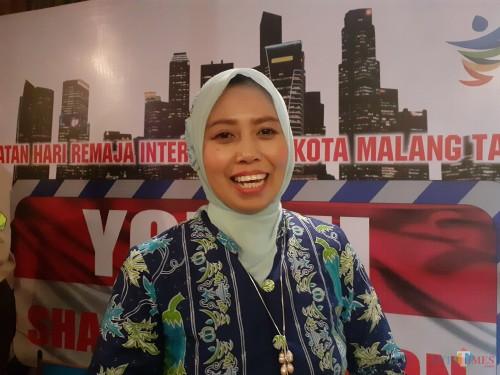 Kasi Kesehatan Keluarga dan Gizi Masyarakat Dinkes Kota Malang, Meifta Eti Winindar, SST, MM (Arifina Cahyanti Firdausi/MalangTIMES)