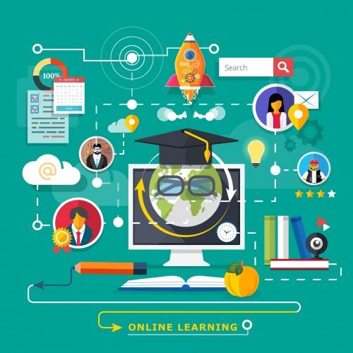 Ilustrasi sektor pendidikan di era Revolusi Industri 4.0 (Ist)