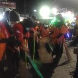 Keren !!! SMPN 1 Sukodono Bawa Pasukan Pembersih Sampah Di Belakang Barisan Karnavalnya
