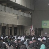 Pembekalan mahasiswa KKN Unisba Blitar.(Foto : Aunur Rofiq/BlitarTIMES)