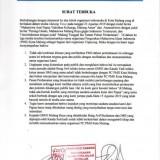 Surat Terbuka PC PMII. (Foto: istimewa)