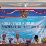 Konsultasi Publik, Penyesuaian Tarif Dasar Air Minum PDAM Tirta Baluran