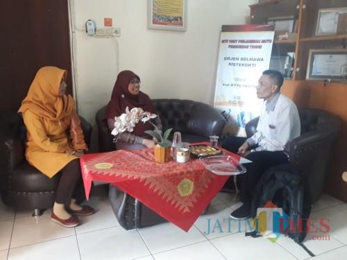 Suasana saat kunjungan Ketua SPI UIM ke Unikama (Unikama for MalangTIMES)