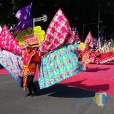 Kemeriahan Pawai Kebangsaan di Kota Blitar.(Foto:Malik Naharul/BlitarTIMES)