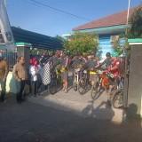 Bersepeda sambil Kenalkan Pasar Rakyat Mangaran