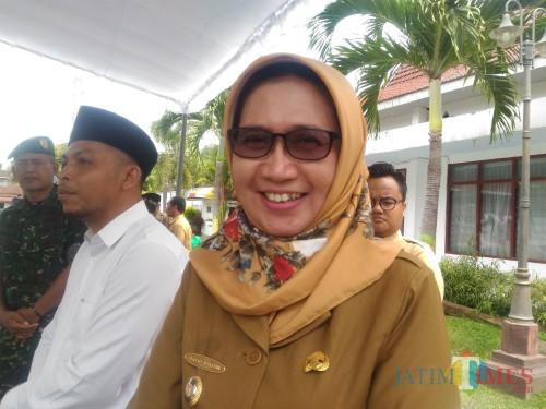 Wakil Bupati Lumajang Ir. Indah Amperawati (Foto : Moch. R. Abdul Fatah / Jatim TIMES)