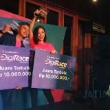 Gara-Gara Pecel, Bisma Karisma Bareng Tya Mihoo Menangkan Digi Race Competition 2019 di Malang