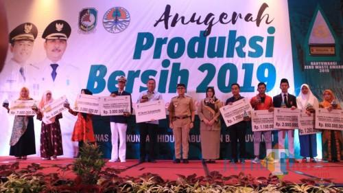 PT. BSI Terima Anugerah Produksi Bersih