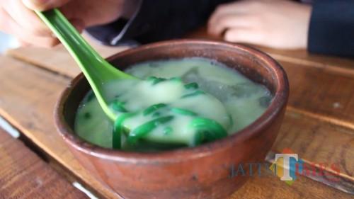 Olahan tradisional Dawet ayu (Dok. MalangTIMES)