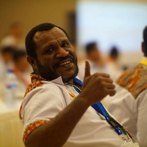 Aktivis masyarakat Papua Arkilaus Baho mengatakan ada upaya adu domba masyarakat Papua dengan Banser NU (Ist)