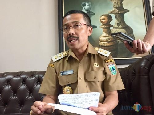 Wakil Wali Kota Batu Punjul Santoso. (Foto: Irsya Richa/MalangTIMES)