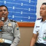 Konferensi pers penutupan Jalan Yos Sudarso