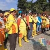 Kerja Nyata DLH Kota Malang, Bersihkan Lokasi Makam yang Sempat Digunakan Buang Sampah Sembarangan