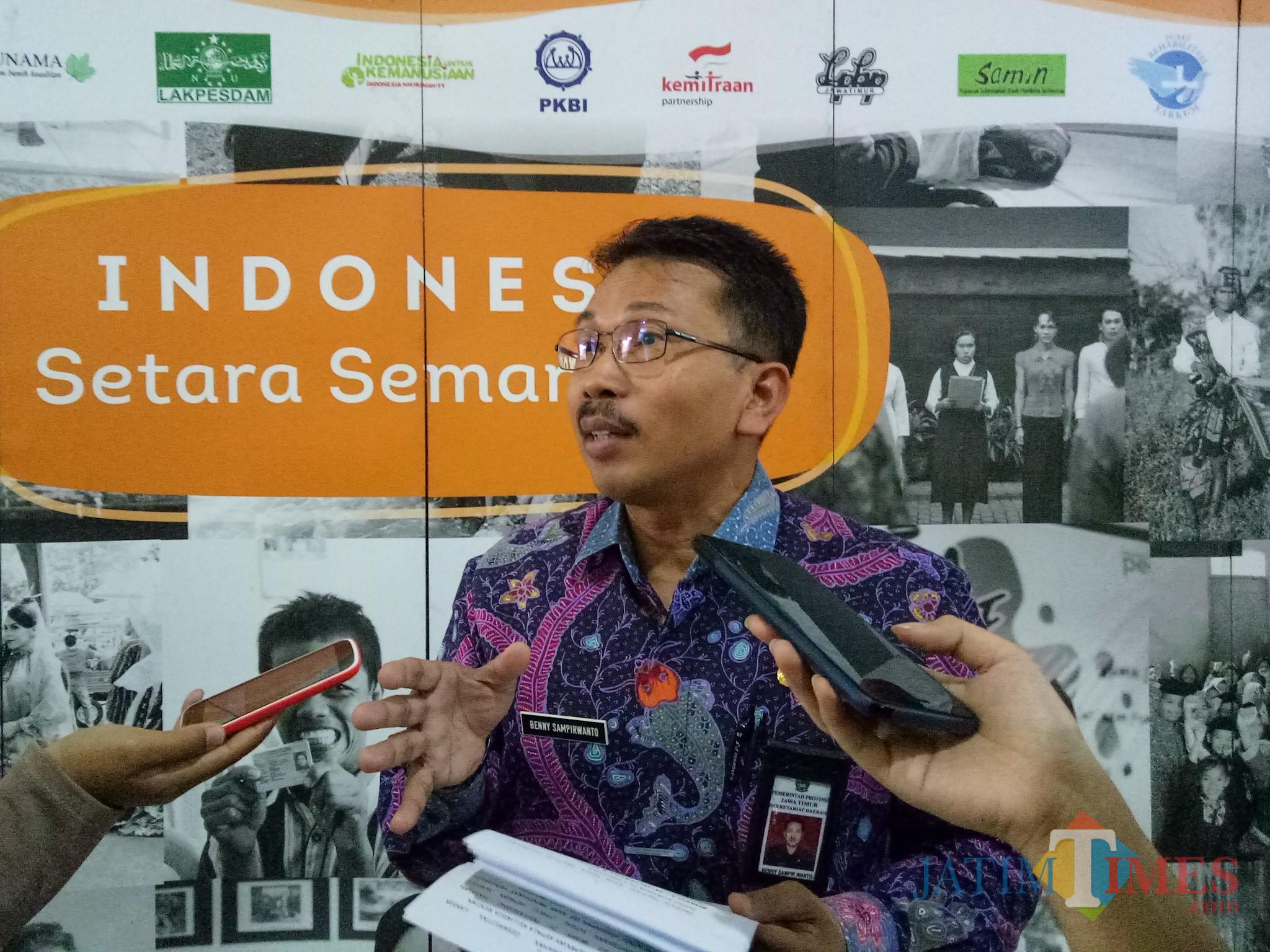 Kepala Bakorwil III Jatim diMalang, Benny Sampirwanto. (Foto: Imarotul Izzah/MalangTIMES)
