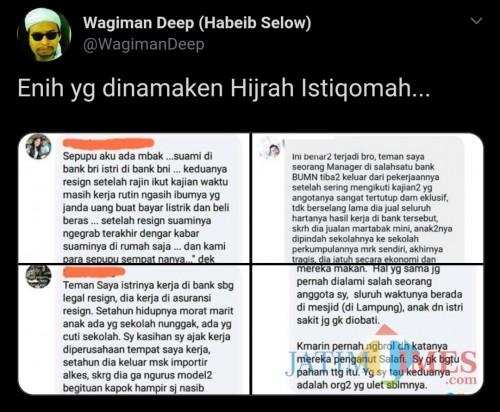 Kisah-Kisah yang Disebut Habieb Selow Hijrah Istiqomah