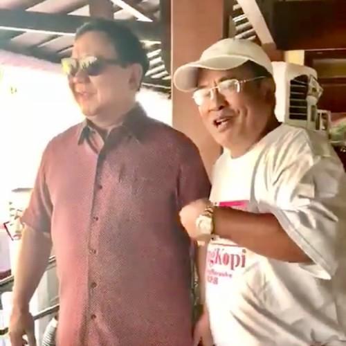 Hotman Paris saat bertemu Prabowo. (Foto: instagram @hotmanparisofficial)