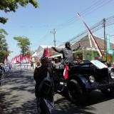 Kepanjen Dikepung Karnaval, Berbagai Ruas Jalan Ditutup