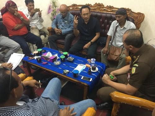 Aktivis antikorupsi audensi di Kejari Kabupaten Pasuruan