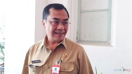 Plt Kepala Dinas Perumahan dan Kawasan Permukiman (Disperkim) Kota Malang, Hadi Santoso (foto: Pipit Anggraeni/MalangTIMES).