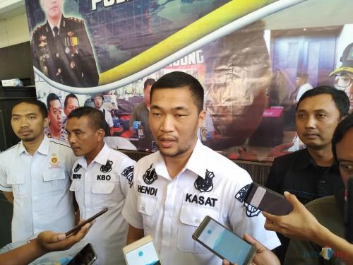AKP Hendi Septiadi Kasat Reskrim Polres Tulungagung / Foto : Anang Basso / Tulungagung TIMES