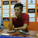 Penasaran Menang di Kandang, Takafumi Akahoshi Ingin Raih saat Lawan Borneo FC