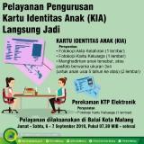 Akhir Pekan Ini, Bisa Urus KIA dan e-KTP di Balai Kota Malang